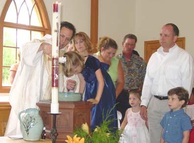 Kali is baptized