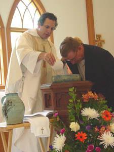 Joe's baptism