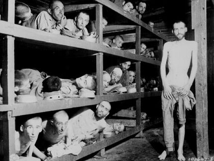 Buchenwald Concentration Camp at the end of World War II