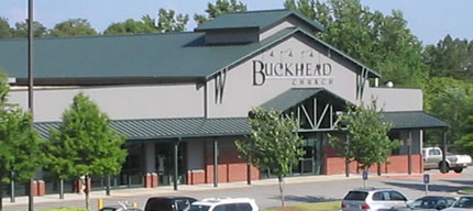Buckhead Church currently meets in a remodeled grocery store