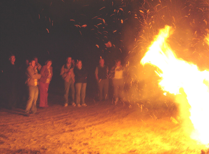 last year's Burning of the Greens