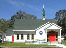 Christ Episcopal Church in St. Marys