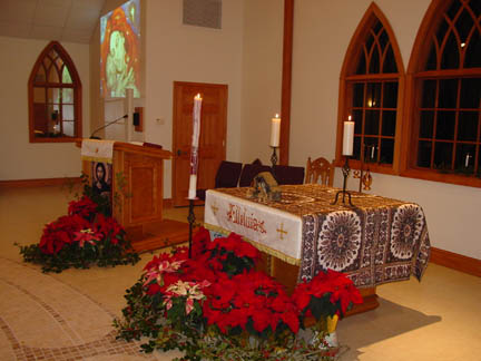 Christmas at King of Peace