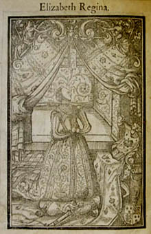 Elizabeth I in prayer