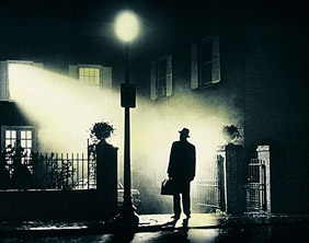 a scene from the movie The Exorcist