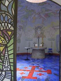 Jean Cocteau designed chapel