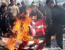 protestors in Iran