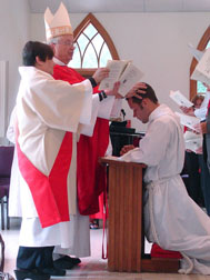 Jay ordained as a deacon