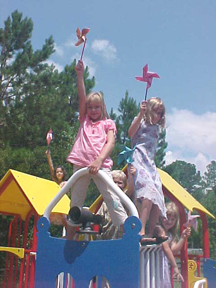 August 2006 Kids in the Kingdom on the Holy Spirit