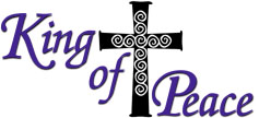 click on this logo to return to the King of Peace home page