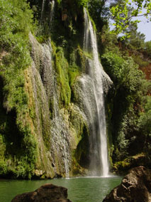 A waterfall in Provence