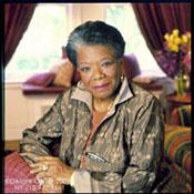 writer Maya Angelou