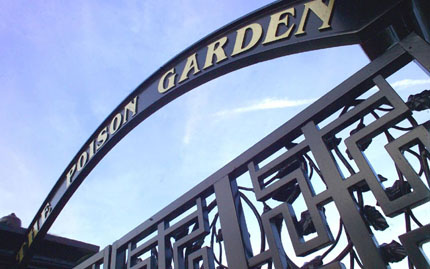 The Poison Garden gate