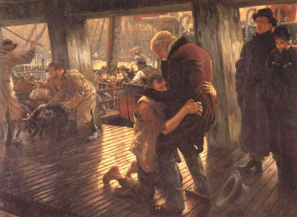 1800s version of the return of the Prodigal Son