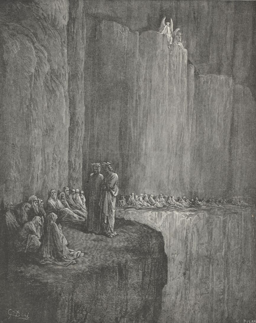 illustration from Dante's Divine Comedy