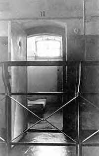 Bonheoffer's cell in Tegel Prison