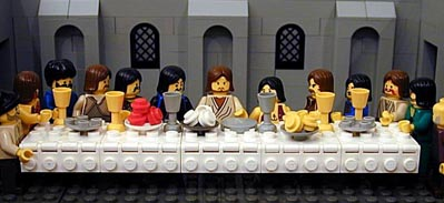 The Last Supper in Legos