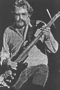 Wade playing the bass