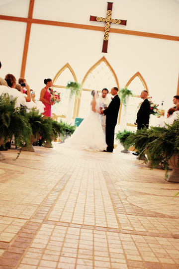 A wedding at King of Peace
